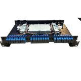 FTTH 48 운반 선반 마운트 광섬유 패치 Panel/ODF
