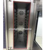 Commerciële Oven 12 van de Convectie van de Stoom van de Apparatuur van de Bakkerij van het Deeg Brood die van de Luchtcirculatie van Pannen het Hete Machine maken