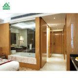 Diseño de lujo Chapa de madera de fresno Customerized Conjunto de Muebles de Dormitorio