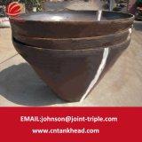 testa conica dell'acciaio inossidabile 06-20-Large per le parti della caldaia o le parti del serbatoio