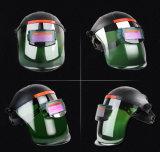 용접 헬멧 자동 어두워짐 넓은 시야 전문가용 후드 중국