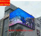 P6 Location d'affichage LED de la publicité de plein air