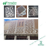 Pannello di rivestimento di scultura di alluminio della parete per la parete divisoria