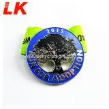工場カスタム黒い金属5K亜鉛合金のスポーツの金属メダル