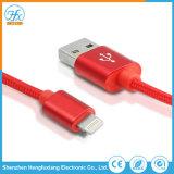 Cavo di carico del lampo di dati del USB del telefono mobile per il iPhone