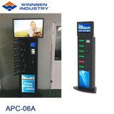 料金の自己サービス電子工学の携帯電話の充電器のキオスクAPC-06Aは絶食する