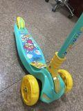 Новый дизайн складной большие колеса детский скутер с музыкой и легкий и печать Jc-741