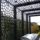 Zwischenwand-Aluminiumfurnier-blatteinzelnes Aluminiumpanel angepasst