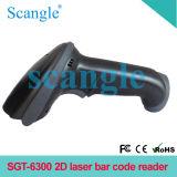 Scanner sgt-6300 van de Streepjescode van de Laser van de hoge snelheid 2d
