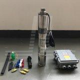 3-дюймовый 48V 600 Вт глубоко солнечной энергии а также насос и насос с батарейным питанием контроллера MPPT
