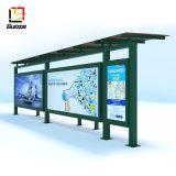 屋外の家具の太陽バス停留所の太陽避難所