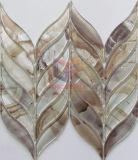 Мозаика стекла вырезывания бумаги стены подпертая водоструйная (CFW52)