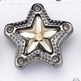Il tasto unito figura della stella della tibia dell'ABS