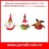 Natale felice Deco di festa di natale della decorazione di natale (ZY14Y70-1-2-3-4)