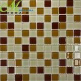 Miatamia Quadrada de cores misturadas mosaicos de tijolos de vidro para contrariar