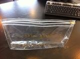 De niet-toxische Duidelijke Plastic Zak van pvc van de Ritssluiting (hbpv-59)