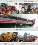 Трубопровод отводного штуцера песка трубы земснаряда всасывания резца