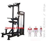 Los deportes trabajan a máquina, equipo del gimnasio, máquina del ejercicio, barbilla + la INMERSIÓN asistidas peso - PT-814