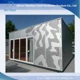Het mooie Blad van het Metaal van het Ponsen voor de Decoratie van de Architectuur