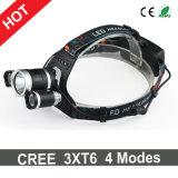 Más nuevo estilo CREE 3xt6 Proyector de LED 7000lm 4 faro de los modos