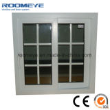 Fenêtres et portes UPVC à bon marché, fenêtres en PVC avec barre