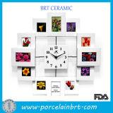 Inicio Decroation Elegante reloj foto marco