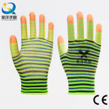 Палец усиленный PU покрытием защитные перчатки