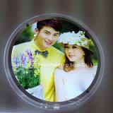 Het ronde Frame van de Foto van het Kristal van de Doos van het Kristal Lichte