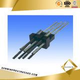Multiholes를 가진 편평한 Prestressed Anchor Connector