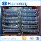 Клетка сетки хранения высокого качества складная стальная