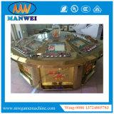 Münzenschlitz, der elektronische Roulette-Säulengang-Maschine spielt