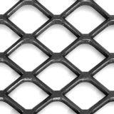 拡大された金属の網、鋼鉄は網シートを拡大した