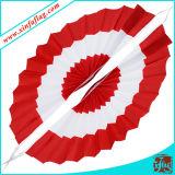 Stamina del Ventilatore-Shapped, bandiera del Ventilatore-Shapped, bandiera decorativa