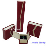 De goedkoopste Verpakkende Doos van de Juwelen van de Gift Cardbard met het Embleem van de Douane