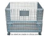 تقدم شبكة سلك فولاذ من معدنة تخزين قفص