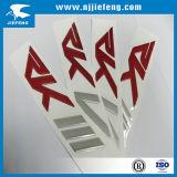 Emblema de la muestra de la insignia de la etiqueta engomada de la divisa de la decoración