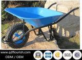 Riga della barra di rotella di gomma della carriola Wb6400h del carrello del carrello dello strumento di giardino