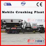 Planta do triturador de China Mobile para esmagar pedras com eficiência elevada