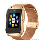 Reloj elegante de Bluetooth del más nuevo deporte con la ranura para tarjeta Gt09 de SIM