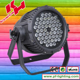 54PCS*3W RGBW Waterproof LED PAR