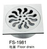 Drainer do piso de aço inoxidável (FS-1981)