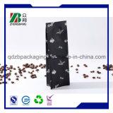 벨브를 가진 박판으로 만들어진 애완 동물 알루미늄 호일 LDPE 부대 1회분의 커피 봉지