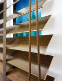 2017の最も普及したShuttesの陰によってカスタマイズされる木製の巻上げ式ブラインドシャッター