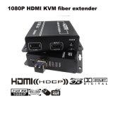 de elevação máxima video cheio da sustentação HD do conversor da fibra óptica de 1080P HDMI Kvm a 300m (KHX-1240HD)