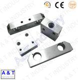No ODM OEM peças de máquinas fabricadas em alumínio