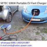 10kw Chademo EV portable ayunan cargador