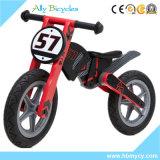 아기 나무로 되는 장난감 아이 균형 자전거 Toldder 훈련 모터바이크