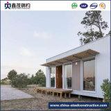 Casa prefabbricata montata facile del contenitore del blocco per grafici d'acciaio con il salone