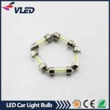 LED T10 Festoon Interior Luminária Light Interior / Placa de licença LED Carro Ampola 31mm 36mm 39mm 41mm