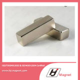 Forte magnete del blocchetto del neodimio N35-52 di alto potere manifatturiero dalla riga di alta qualità
